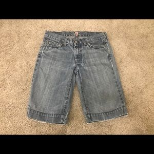 7 For All ManKind Dojo Shorts size 27